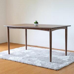 ウォルナットダイニングテーブルダイニングテーブル無垢ウォールナット幅135北欧送料無料VELOCEDININGTABLE135(W-PU)-ベローチェ135ダイニングテーブル-[ISSEIKI一生紀200008]02P18Jun16