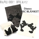 BAREFOOT DREAMS ベアフットドリームス Classic Mickey Mouse & Minnie Mouse Throw クラシック ミッキーマウス&ミニ…