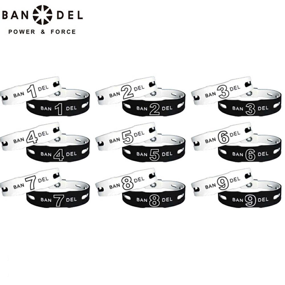 【着後レビューでBANDELグッズプレゼント!】バンデル ナンバー ブレスレット ブラックxホワイト リバーシブル BANDEL リニューアル モデル ギフト プレゼント 正規品 正規代理店