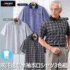 Pierucci/ピエルッチ吸汗速乾半袖ポロシャツ3色組(NE-2038)【送料無料】