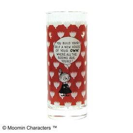 MOOMIN(ムーミン) ロングタンブラー コミックス・パターン リトルミイ レッド MM-G20-002 グラス ガラス コップ