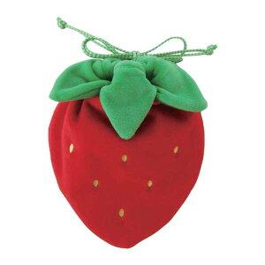 巾着 イチゴ ISE-0253 小物入れ お弁当 おにぎり おむすび 巾着袋 きんちゃく