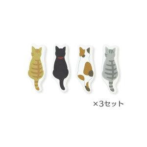 サラリカ 調味料用シリカゲル乾燥剤 4個入り×3セット N-SRLC-K-3P 湿気防止 ネコ 猫 型【メール便送料無料】