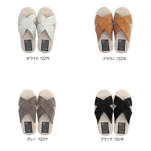Summer slippers(サマースリッパ) マットPUクロススリッパ M(22〜25cm)