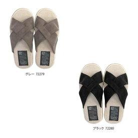 Summer slippers(サマースリッパ) マットPUクロススリッパ L(25〜27cm)