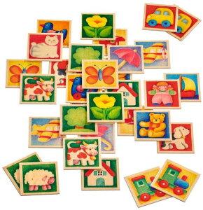 Selecta セレクタ社 ペアカード 木のおもちゃ ドイツ製 3歳+ SE63017 SE3582 (ゲーム テーブルゲーム 絵合わせ 神経衰弱 メモリー 誕生日 ギフト プレゼント 脳トレ) 児童館