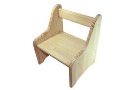 木遊舎 ちびっ子チェア (子供 椅子 木製 白木 組み立て式 国産) 児童館 手作り