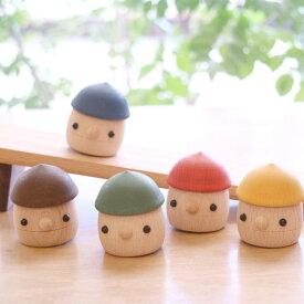 こまむぐ こまーむ どんぐりころころセット どんぐり1個と坂のセット 木のおもちゃ 日本製 国産 安心 ギフト 出産祝い 赤ちゃん ベビーギフト 誕生日プレゼント 男の子 女の子 プレゼント 幼児 人形 音の出るおもちゃ 木製 児童館