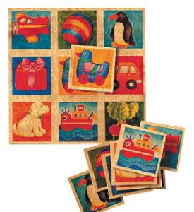 Selecta セレクタ社 ことばカード 木製絵板 3歳+ ドイツ製 SE63007 Bilderlotto 児童館