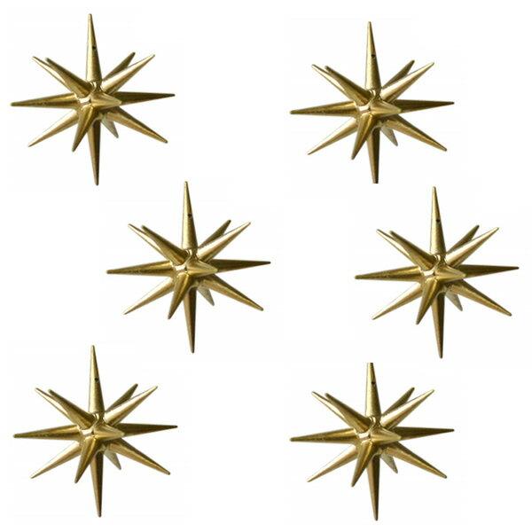 【 金の星 (小)箱入り6ヶセット】 ドイツ ERZ アルビンプライスラー 【正規輸入品】 箱入り6ヶセット
