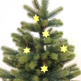 【星 5ケセット(黄)】クリスマスツリー オーナメント 児童館