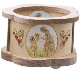 キャンドルスタンド フラワーギフト(キャンドルホルダー ろうそく立て キャンドル立て クリスマス 木製 ドイツ製) 児童館