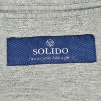 ソリードSOLIDO435度詰天竺ドズメライトグレーコットンスウェット2つ釦シングルジャケット国内正規品モデル