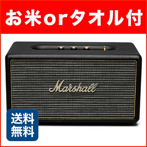 Marshallスピーカー Stanmore Bluetooth Black