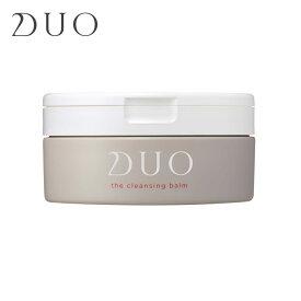 DUO デュオ ザ クレンジングバーム 年齢肌ケア しっとり タイプ 90g 正規品 DUO クレンジングバーム クレンジング マッサージクリーム 無添加 W洗顔不要