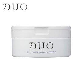 DUO デュオ ザ クレンジングバーム ホワイト くすみケア しっとり タイプ 90g 正規品 DUO クレンジングバーム クレンジング マッサージクリーム 無添加 W洗顔不要