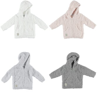 提高基本工資脚夢Parker提高基本工資脚嬰兒小孩BAREFOOT DREAMS INFANT HOODIE 512
