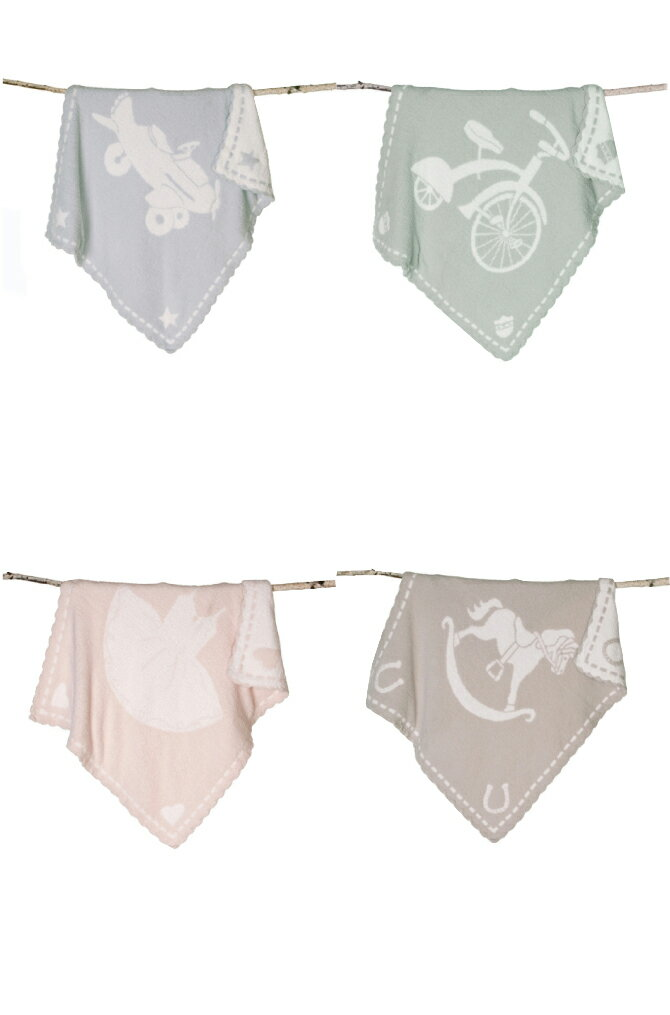 ベアフットドリームス ブランケット BAREFOOT DREAMS CozyChic Scallop Blanket 551