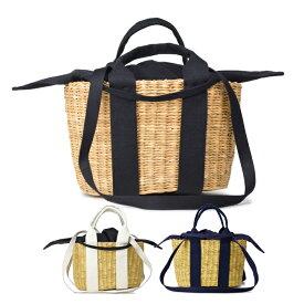 【300円OFFクーポン!+5%還元!】MUUN (ムーニュ)MINI CABA P HDL かごバッグ布袋付き レディース バッグ トートバッグ