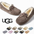 UGGモカシンアグDAKOTAダコタレディースファーシューズローファームートンスリッポン靴STYLE#5612