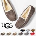 UGGモカシンアグAnsleyアンスレーレディースファーシューズローファームートンスリッポン靴STYLE#3312