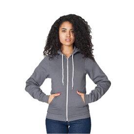 American Apparel アメリカン アパレル Unisex Flex Fleece Zip Hoodie ユニセックスフレックスフリースジップフッディ レディーズ メンズ 対応 無地 ジップパーカー アメアパ  STYLE: F497