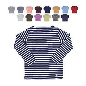【5%還元!】ORCIVAL オーシバル / オーチバル LONG SLEEVE T-SHIRT B211 コットンロードフレンチバスクシャツ レディース メンズ ユニセックス