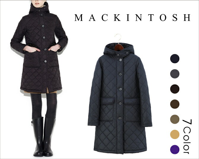 MACKINTOSH(マッキントッシュ) GRANGE(グランジ) インサイドボアタイプ フードキルティングコート レディース ジャケット  【西日本】