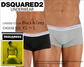 DSQUARED2 디 스퀘어 드 TRUNKS 팬티 DCLC60020 블랙 화이트 アンダーウエアー 속옷