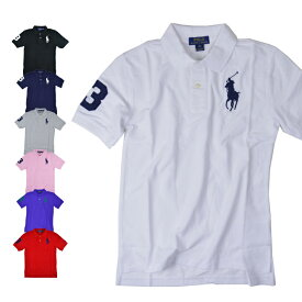 ポロ ラルフローレン ビッグポニー ポロシャツ ボーイズ モデル POLO RALPH LAUREN BIG PONY POLO BOYS 323670257【西日本】