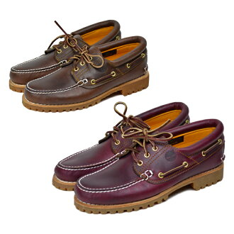 Timberland deck shoes men boots TIMBERLAND 3 EYE CLASSIC LUG TB030003