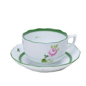 ヘレンド ティーカップ&ソーサー ウイーン の 薔薇 HEREND VIEILLE ROSE DHABSBOURG 200ml00724000 【西日本】 [cup] [gift set]