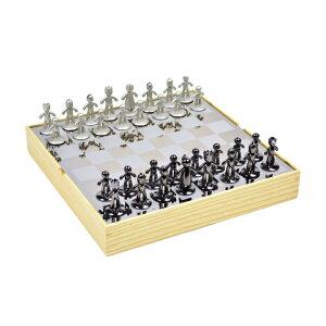 UMBRA アンブラ BUDDY CHESS SET チェスセット インテリア雑貨 ギフト プレゼント ボードゲーム マインドスポーツ【西日本】