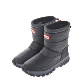 HUNTER ハンター WFS2066WWU Boots レインブーツ スノーブーツ 防滑 断熱 ブラック レディースシューズ【西日本】