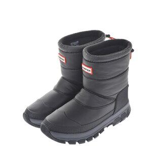 HUNTER ハンター ORG INSULATED SNOW BOOTS WFS2066WWU レインブーツ スノーブーツ 防滑 断熱 ブラック レディースシューズ【西日本】