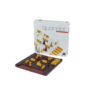 Gigamic ギガミック QUORIDOR コリドール 木製ボードゲーム ボードゲーム テーブルゲーム 木製 知育玩具 脳トレ 知育 玩具 おもちゃ【西日本】