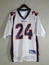 ネコポス可能 Reebok リーボック NFL  デンバー・ブロンコス Deltha O'Neal ゲームシャツ M【中古】【メンズ】【MEDIUM】
