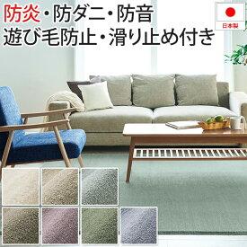 ラグ カーペット インテリアに馴染む モダンなカラー 日本製 約200×250cm カーム (S) 半額以下