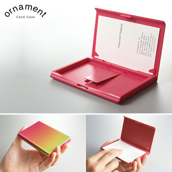 "ornament×""hconcept(アッシュコンセプト)""カードケース"
