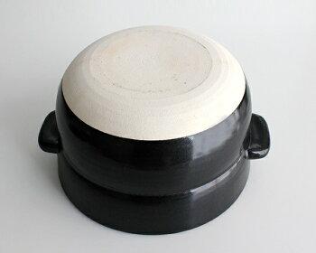 【かもしか道具店】ごはんの鍋1合炊き上がったご飯をそのまま食卓へ