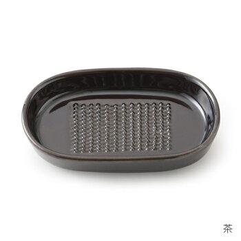 【かもしか道具店】しょうがの繊維が残らない、不思議なおろし器陶器日本製