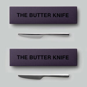 THE バターナイフ ギフトボックス入り 日本製 おしゃれ シンプル 贈り物 プレゼント 新潟県 THE BUTTER KNIFE Gift box
