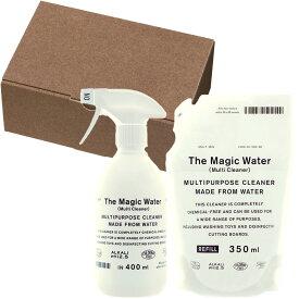 お中元 ギフト 電解水の除菌スプレーセット THE マルチクリーナー 界面活性剤、アルコール不使用 おしゃれなボトル The Magic Water (Multi Cleaner)