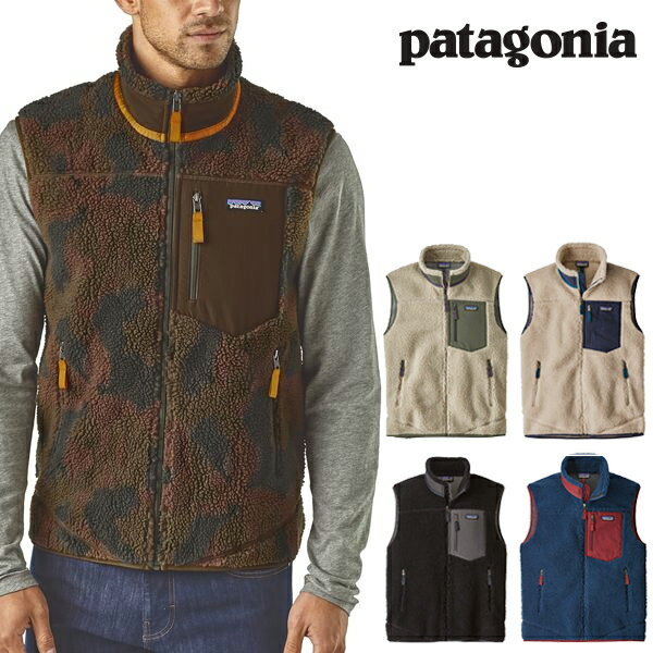 Patagonia パタゴニア メンズ・クラシック・レトロX・フリース ベスト 2018 FW 秋冬新作 Men's Classic Retro-X Fleece Vest 23048