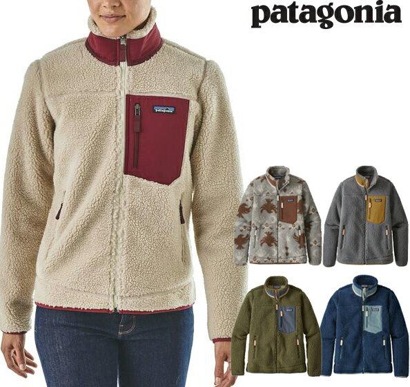 Patagonia パタゴニア ウィメンズ・クラシック・レトロX・フリース ジャケット 2018 FW 秋冬新作 Women's Classic Retro-X Fleece Jacket レディース 23074