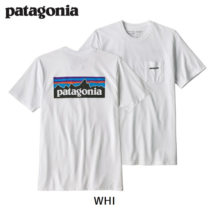【期間限定 送料無料】パタゴニア patagonia メンズ・P-6ロゴ・ポケット・レスポンシビリティー 春夏新作 2018 SS 39178 Men's P-6 Logo Pocket Responsibili-Tee®