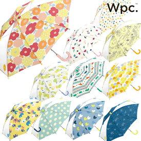 【Wpc】キッズ 傘 可愛い おしゃれ こども ワールドパーティー ドット 水玉 ボーダー アニマル フルーツ 花柄 男の子 女の子