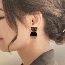SOKO ピアス ケニア ハンドメイド レディース エシカル Recycled Brass&Horn【送料無料】