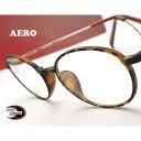 【送料無料】メガネ 度付き/度なし/伊達メガネ/pc用レンズ対応/【メガネ通販】エアロウルテム AERO eyewear 丸めがね …