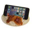 スマホスタンド 食品サンプル ビーフカレー iphone インテリア お土産 ギフト 外国人 観光客 日本製 リアル スタンド